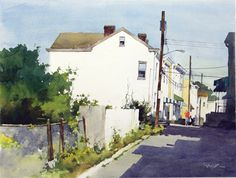 Painting by Bill Vrscak