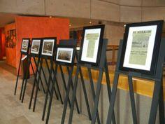 SMGE TIJUANA.- Ceremonia  Solemne de Celebración del 50 Aniversario de su Fundación. Exposición fotográfica y documental en el vestíbulo del CECUT.
