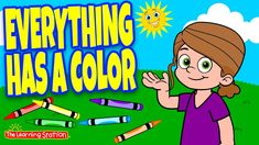 Color Song For Kids, Color Songs, Preschool Learning, Educational Activities, Fun Learning, Fun Songs, Kids Songs, Phonics Song, Indoor Recess