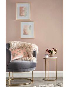 Home office paint colors 2018 47 Ideas Home Living Room, Living Room Furniture, Living Room Designs, Living Room Decor, Mauve Living Room, Pink Living Room Paint, Brown Furniture, Accent Furniture, Cheap Furniture