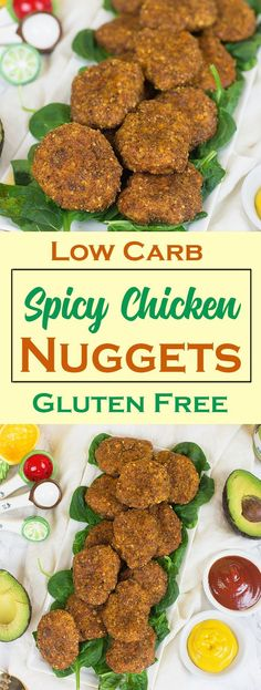 Low Carb (Paleo Friendly) Spicy Chicken Nuggets... OMG! These are the best nuggets I've ever had... seriously.
