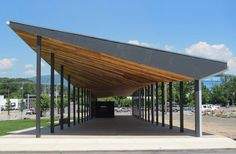 Covington Farmers Market by design/buildLAB  This market pavilion is the modern expression of timeless agrarian sensibilities.