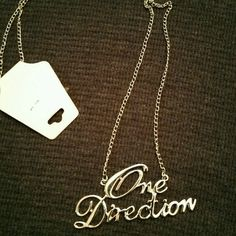 One Direction Necklace