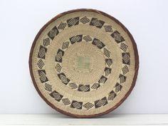 "Medium 33.5cm (13 4/8"") -Handmade, Binga Basket, African Basket, Woven Basket, Fair trade, Zimbabwe, Ethnic, Boho, Wall Hanging, Tonga-ZB137 by HuckleberryBaskets on Etsy https://www.etsy.com/listing/489721997/medium-335cm-13-48-handmade-binga-basket"
