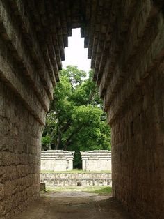 The Mayan Arch, Ball Court - Copan Ruinas, Honduras by Adalberto.H.Vega, via Flickr
