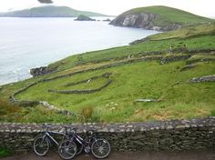 The Dingle Peninsula along the Western edge of Ireland
