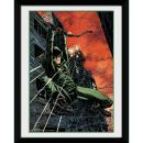 Prezzi e Sconti: #Dc comics arrow fire 8x6 framed  ad Euro 11.29 in #Gb eye posters #Entertainment merchandise
