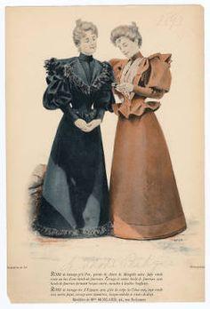 1893-1894, Plate 071 :: Costume Institute Fashion Plates