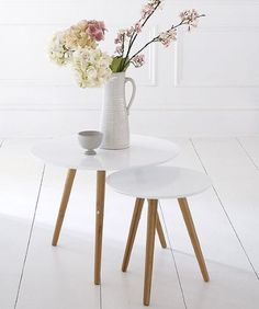 Set of 2 Simple Home tables /£200