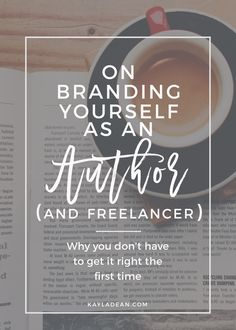 How to brand yourself as an author or freelancer using specific strategies.