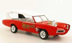 ertl+1+18+diecast+cars   Monkee Mobile The Monkees red Ertl 1/18