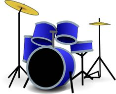 Image for drums music clip art Clipart, Public Domain Clip Art, Drum Lessons For Kids, Drums Art, Play Drums, Drum Music, Drum Table, Drum Kits, Percussion