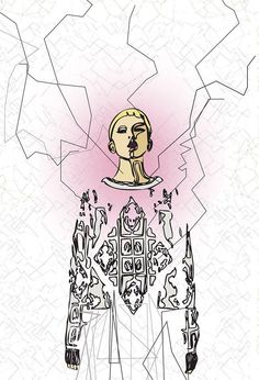 Mind the Mustard, illustration by Arty Chantzoplaki