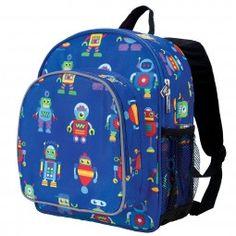 6318b077d8c9 Pack n Snack Backpack - Pre-School Age - Wildkin Brand Monogram Backpack
