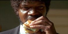 Food Film Friday: Make the Big Kahuna Burger from Pulp Fiction - Reel Life With Jane Pulp Fiction, Fiction Movies, Tarantino Films, Quentin Tarantino, Delicious Burgers, Tasty Burger, Delicious Food, Big Kahuna Burger, Hawaiian Burger