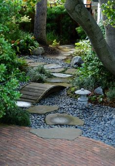 japanese garden design principles Google Search dry stream bed