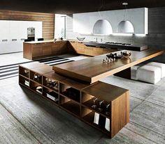 #fernandoleonespacios #cocina #diseño #arquitectura #vanguardia #wood #design #kitchen #pedreguer