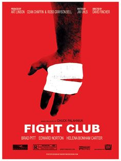 Image result for fight club movie poster