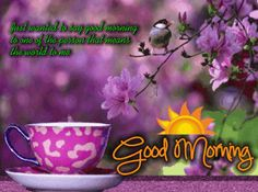 Good Morning Sunshine ecard !