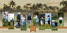 Terry Billman | Get It Scrapped. Golf, multiple photo LO, vertical pictures