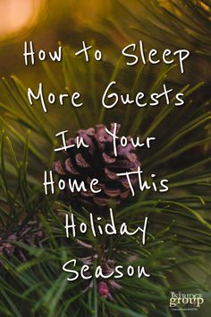 How to Sleep More Guests in Your Metro #DC Home This Holiday Season | TheEstridgeGroup.com Sleep, Seasons, Group, Holiday, Blog, Home, Vacation, House, Ad Home