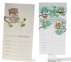 Fill-In Letterpress Party Invitations | Design + Photo: Ilee Papergoods