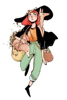 Florian, on her way to class