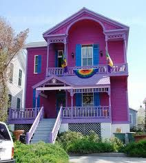 Purple House And Then The Little Rainbow Banner Perfect Princes Sunflower