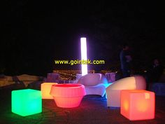 led lighting for nightclub pub furniture