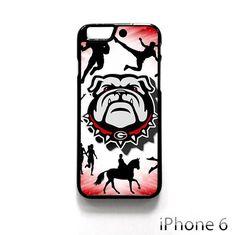 georgia bulldogs logo AR for iPhone 4/4S/5/5C/5S/6/6 plus phonecase