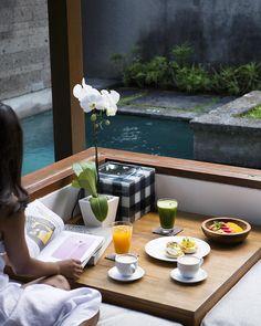 What a beautiful day to have breakfast on your own private pool villa...#theelysianbali #theelysianexperience #bali #seminyak #hotel #villa #holiday #travel #bucketlist #balilife #baliisland #balinese #breakfast #luxuryhotel #luxurytravel #luxurylifestyle #poolvilla #boutiquevilla #morning #lifestyle