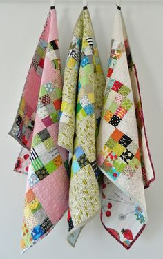 s.o.t.a.k handmade: sixteen patch baby quilts {plus a tutorial}