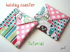 coaster tutorial, may make some for the house