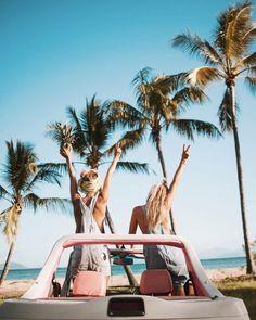 summer | road trip  peace sign palm trees summer sun fun beach ocean sea Hawaii California island paradise
