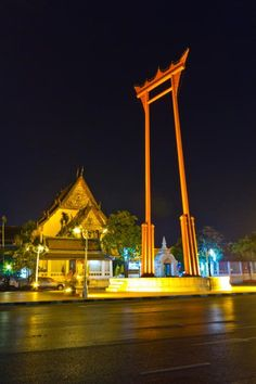 Giant Swing, Thailand- one of the most-enjoyed religious sites in Bangkok.