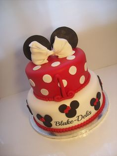 Minnie Mouse 12 inch 249 CakesDisney Pinterest Minnie mouse