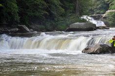 Lower Swallow Falls in Garrett County Maryland!