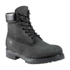 Men's 6-Inch Premium Waterproof Boots ($190) ❤ liked on Polyvore featuring men's fashion, men's shoes, men's boots and men's work boots