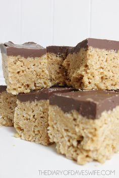 Peanut Butter Rice Crispy Bars