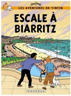 Les Aventures de Tintin - Album Imaginaire - Escale à Biarritz