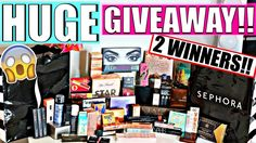 HUGE GIVEAWAY OPEN INTERNATIONALLY || 2 WINNERS || 2017---STILL OPEN!!!