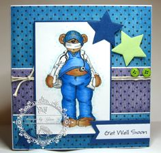 Teddy Bo Card