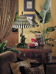 I don't know that monkeys are a true moniker of traditional West Indies but I friggin love that lamp. Get the banana!!