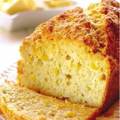mieliebrood (sweet corn bread), good texture, but very plain taste. Would add herbs or spices next time.Easy mieliebrood (sweet corn bread), good texture, but very plain taste. Would add herbs or spices next time. Cocoa Recipes, Coffee Recipes, Baking Recipes, Dessert Recipes, Sweet Recipes, Yummy Recipes, Dinner Recipes, Sweetcorn Bake, Food Cakes