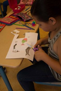 Ostseekinder malen ihr großes Bild   Schnappschüsse vom Malen mit den Ostseekindern (c) Frank Koebsch (5)