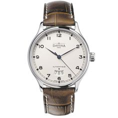 Davosa Classic Men's Automatic Watch 16145616 With Sapphire Crystal Case Back And A 3 Day Date Function: Amazon.co.uk: Watches #davosa #watch