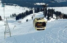 #Gulmarg is a town, a #hill station, a popular skiing destination and a notified area committee in #Baramula district in the Indian state of #Jammu and #Kashmir. The town is situated in the #Pirpanjal range in the western the #Himalayas.