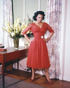 Dorothy Dandridge in Argentina, 1955