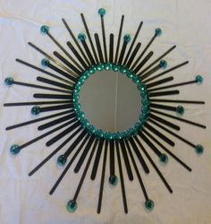 Charming Sunburst Mirror von AshleysSunburstShop auf Etsy