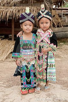 Laos has many tribes of people, many including Brao and the Katang tribes from southern Laos.